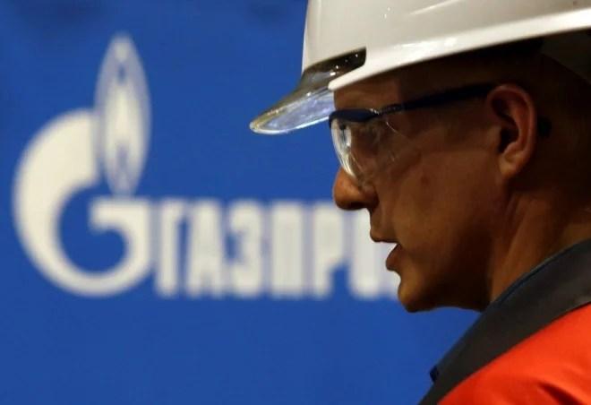 gazprom kina ryssland