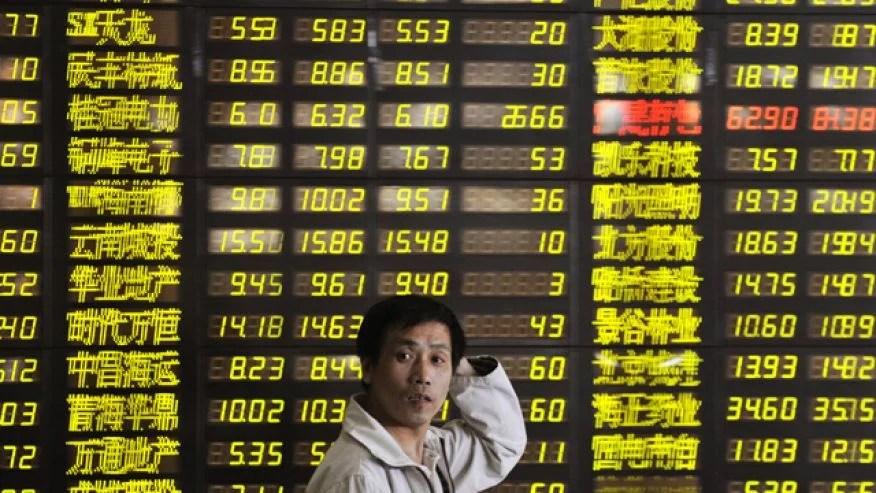 kina aktier börs