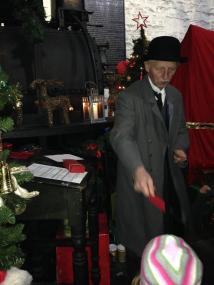 Santa's ticket collector