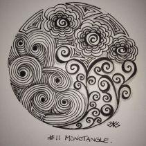 11 Monotangle