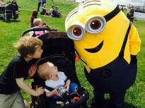 We met some minions...