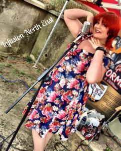 September 2016 - Singing at Blyth Battery as Ruby Barnet