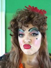 March - I dressed up as a panto dame for a promo day