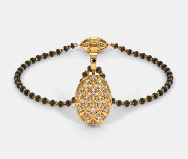 The Alina Mangalsutra Bracelet