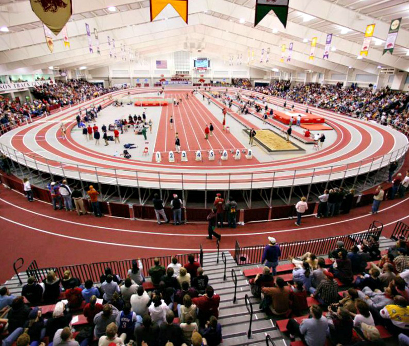 University of Arkansas Randal Tyson Indoor Track Facility