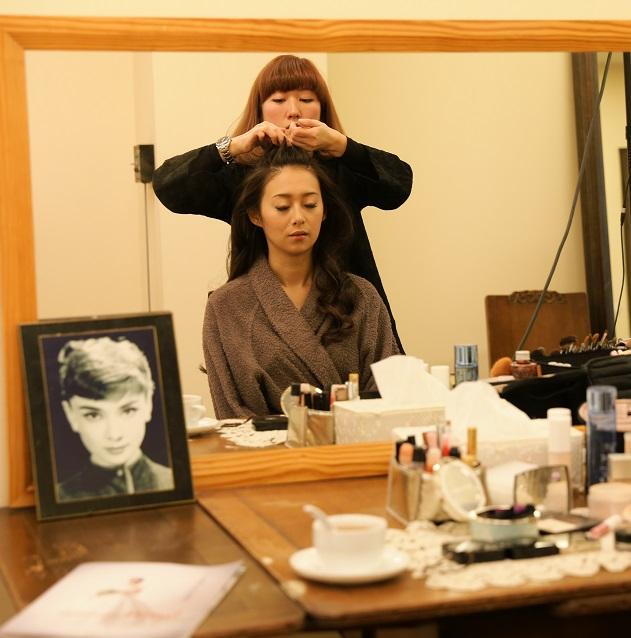 和装 日本髪