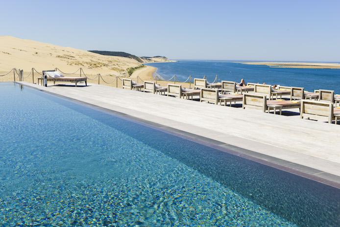 La co o rniche sur la dune du pyla kinda break - Restaurant la corniche arcachon ...