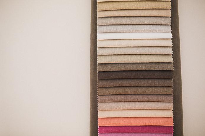 Tissus du tapissier décorateur Bridge & Jones à Biarritz.