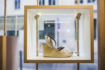 Chaussures compensées PK214 Guéthary en vente à Biarritz.