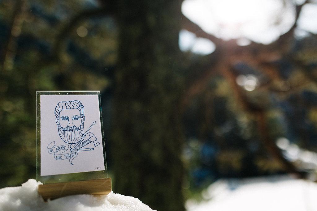 Cadre photo en bois du créateur artisan Etienne Bois dans la Kinda Box