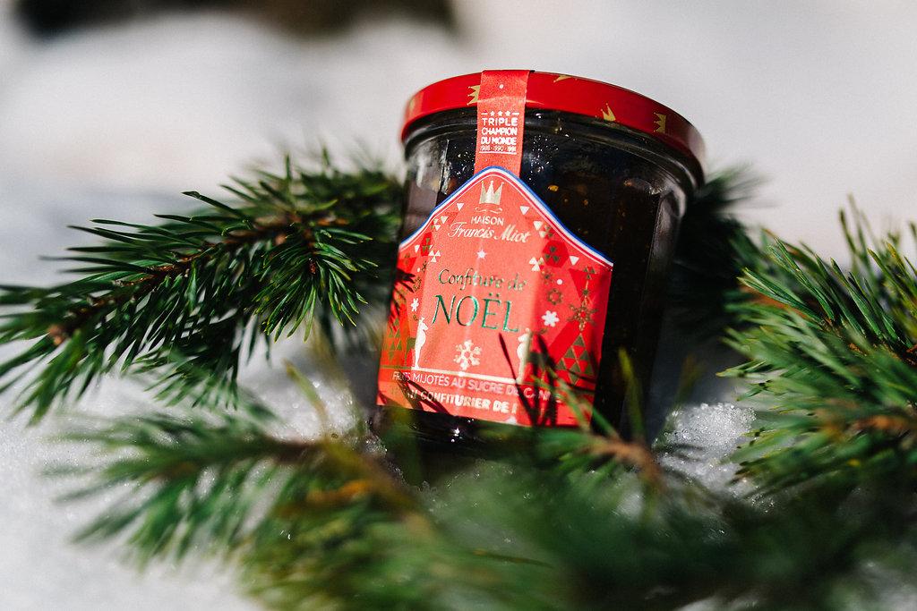 Confiture de Noël Francis Miot en vente dans la Kinda Box
