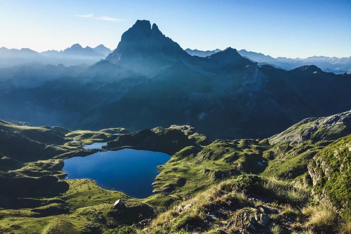 randonnée lac d'Ayous dans les Pyrénées en Vallee d'Ossau