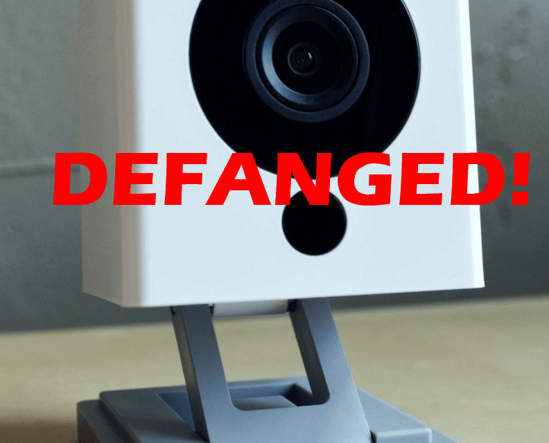Owning a Cheap Wyze Cam v2 with DaFangHacks