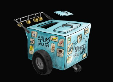 Paleta Cart - blue