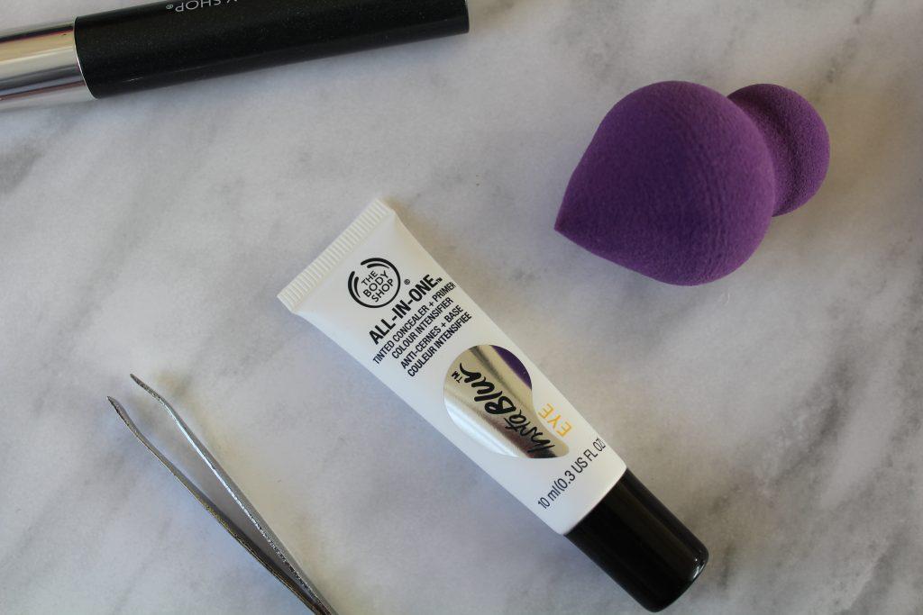 body shop insta blur eye cream