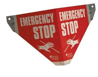 Safe-T-Pull Emergency Stop Sign
