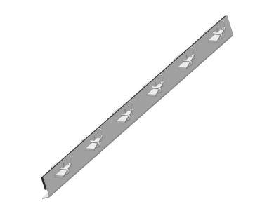 Conveyor skirting clamp, K-Lock® Wedge Skirting Clamp