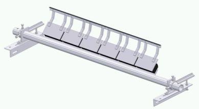 Tungsten Carbide Blades - 'H' Series Primary Belt Cleaner