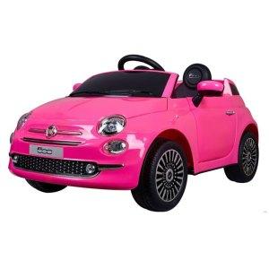 Fiat 500 Kinderauto Roze 1
