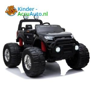 Ford Ranger Monster Truck Kinderauto Zwart 1