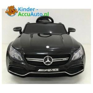 Mercedes C63 S kinderauto Zwart 1