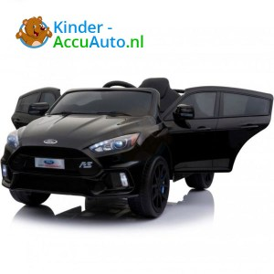 Ford Focus RS Kinderauto Zwart 1