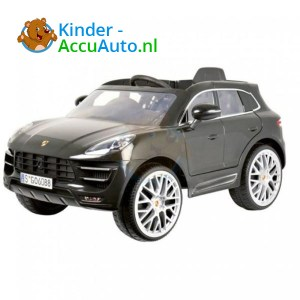 Porsche Macan Kinderauto Zwart 1
