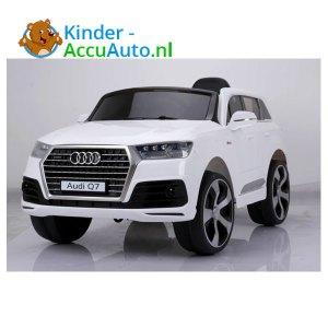 Audi Q7 sline Wit Kinderauto 1