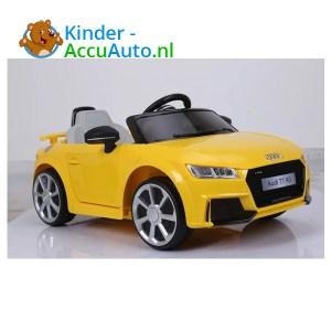 Audi TTRS Geel Kinderauto 1