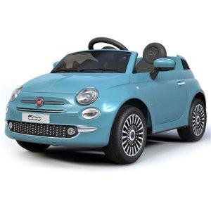 Fiat 500 Kinderauto Blauw 1