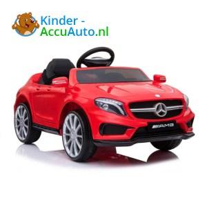 Mercedes GLA45 AMG Kinderauto Rood 1