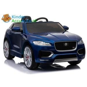 Kinder accu auto f pace blauw 1