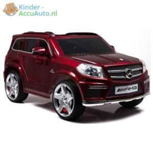 Kinder Accu Auto Mercedes GL63 rood 4