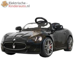 Maserati Gran Turismo Kinderauto Zwart 1