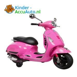 Vespa GTS Roze Kinderscooter 1