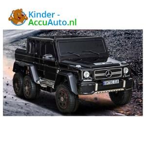 Mercedes G63 6x6 Zwart Kinderauto 1