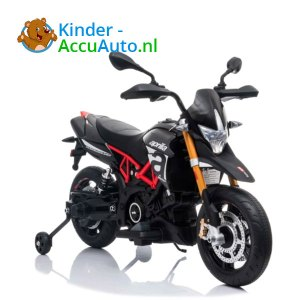 Aprilia Dorsaduro Zwart Kindermotor 1