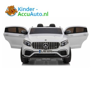 Mercedes G63 Wit Kinderauto 2 Persoons AMG 1