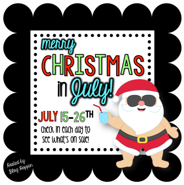Christmas In July Party Clipart.Christmas In July