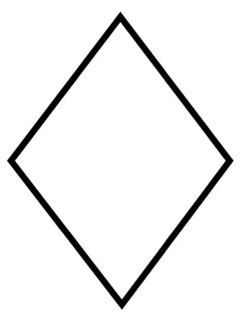 diamond coloring pages # 2
