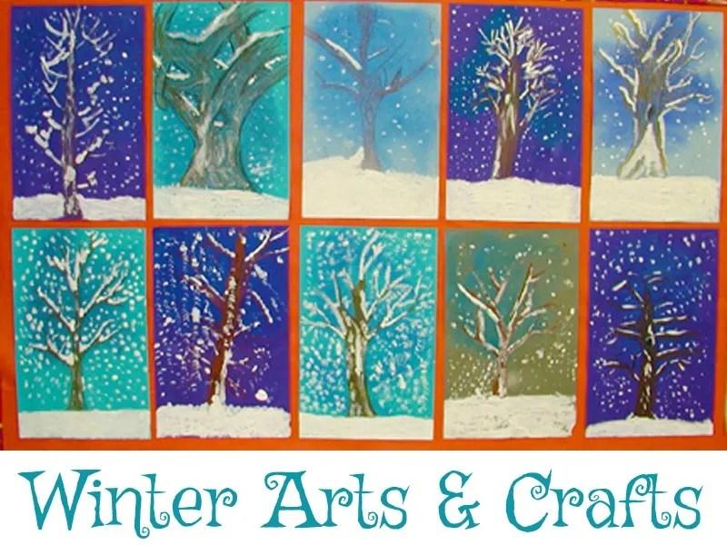 Holiday Crafts From KinderArt Seasonal Arts And Crafts