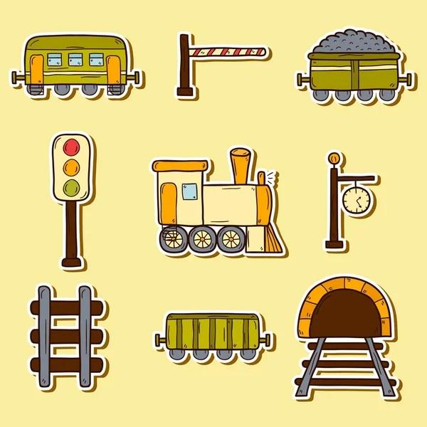 Картинка паровозик. ᐈ Шаблон паровозика с вагонами ...