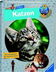 Sachbuch für Kinder über Katzen
