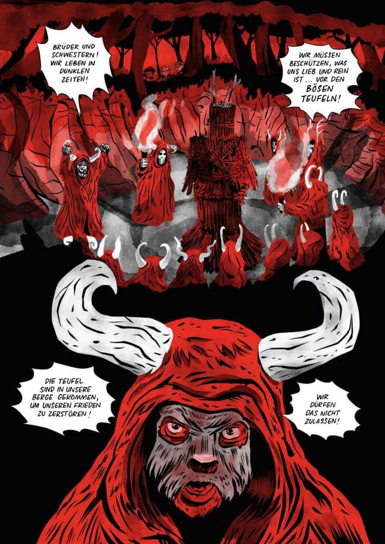 Christopher Tauber, Graphic Novel Die drei ??? Das Dorf der Teufel