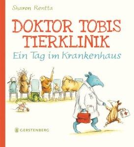 Doktor Tobis Tierklinik - ein Tag im Krankenhaus ist ein tierisch lustiges Bilderbuch über die Arbeit im Krankenhaus. Dort nämlich arbeitet Tobis Mama als Ärztin und Tobi darf sie einen Tag begleiten.
