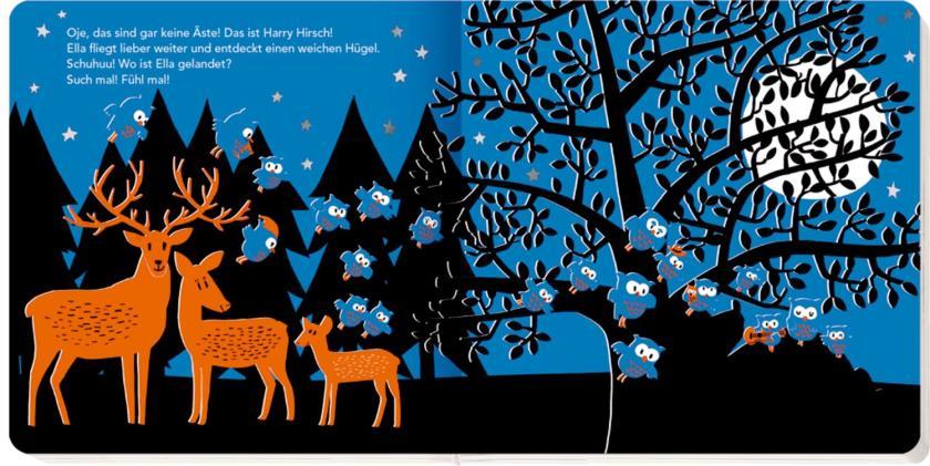 Wo ist Ella Eule? Ein gute Nacht Buch ab 18 Monaten für Kleinkinder