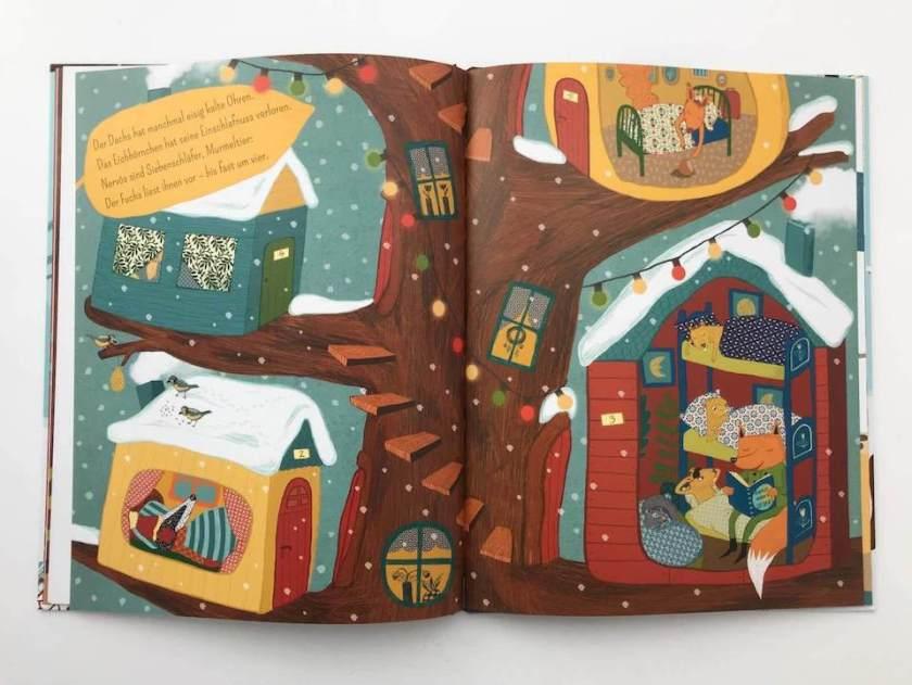 Kinderbuch Winterschlaf