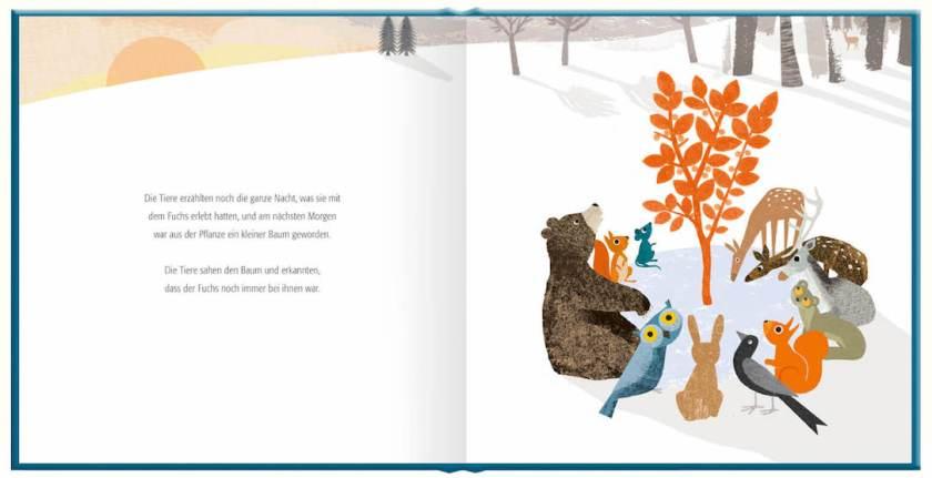 Der Baum der Erinnerung ist ein einfühlsames Bilderbuch über den Tod im Alter für Kinder ab 3 Jahren