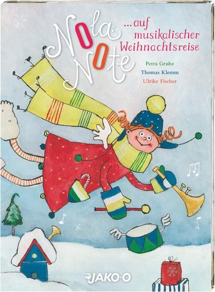 Nola Note auf musikalischer Weihnachtsreise ist eine CD mit Weihnachtsliedern für Kinder