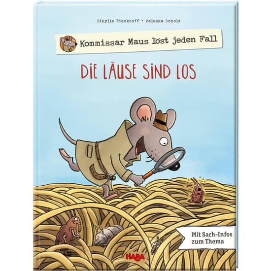 Bilderbuch Läuse mit Kommissar Maus